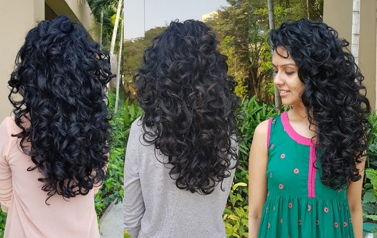 My Curly Haircut at BBlunt Bangalore(Magrath Road) with Shafad ...