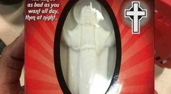 "See This 'Jesus Soap' People Are Seriously Buying To ""Wash Their Sins Away"""