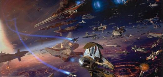 """Battle of Coruscant"" by Dave Seeley"