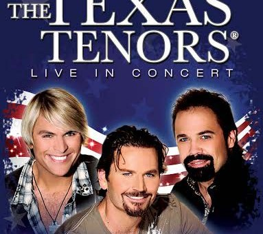From left to right: country music singer JC Fisher, pop singer Marcus Collins and opera singer John Hagen, all who make up 'The Texas Tenors.' (Submitted photo)