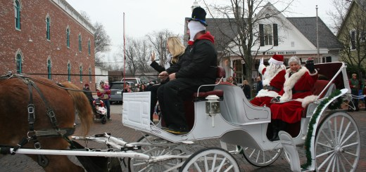 Santa and Mrs. Claus make their way down Main Street during last year's parade. This year the parade is on Nov. 29 and will be followed by the annual tree lighting ceremony. (Submitted photo)