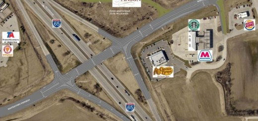 INDOT has approved plans to upgrade the I-65 interchange at Whitestown Parkway. (Submitted image)