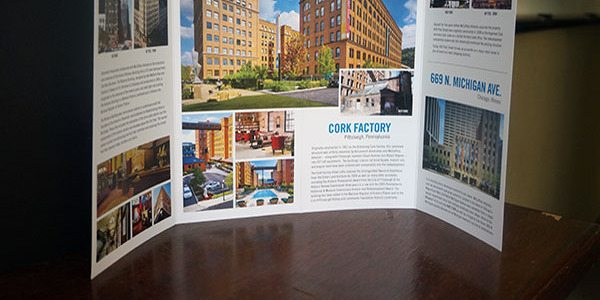 Chicago Brochure Printing   Custom Short Run Brochures   Cushing We ll take care of the printing