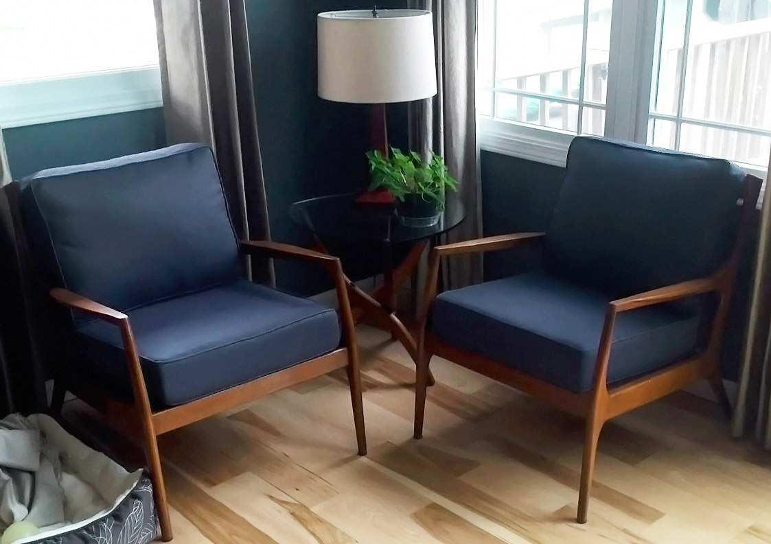 Enthralling Navy Chairs What It Is How To Get It Cushion Mid Century Chairs Lear Mid Century Chairs Eames houzz 01 Mid Century Modern Chairs