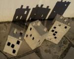 Immeubles grès blanc/raku 1