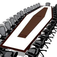 Anchorage Boardroom Conference Table