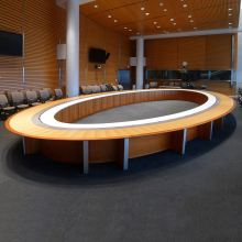 Bank Institution Executive Conference Table Room