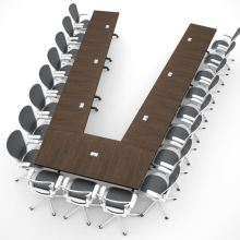 AGDIA Modular Conference Table