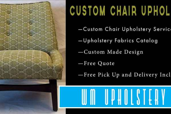 CHAIR UPHOLSTERY SERVICES VAN NUYS CALIFORNIA