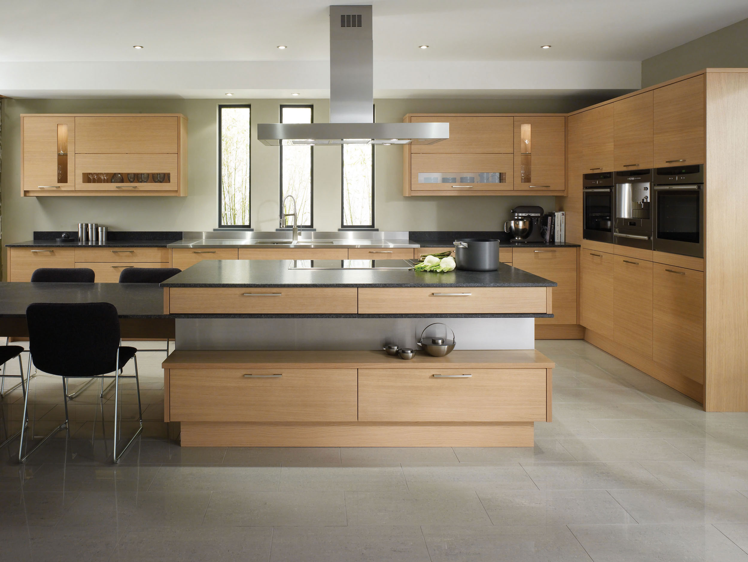 customkitchencabinetry contemporary kitchen cabinets Modern Kitchen Cabinet Design NYC