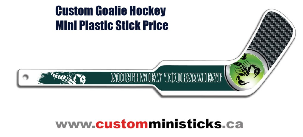 Custom Goalie Hockey Mini Plastic Stick Price
