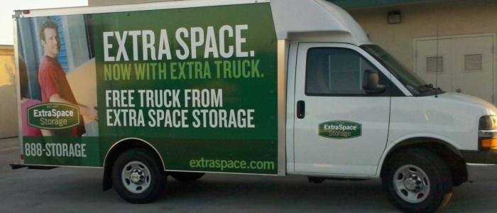 Box Truck Wrap for ExtraSpace Storage