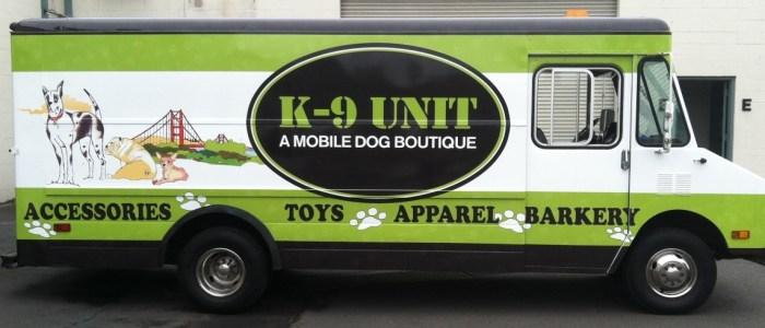 K-9 Unit San Francisco Wrap