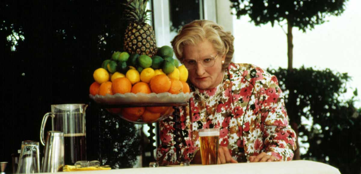 Mrs. Doubtfire Best Comedies of the 90s