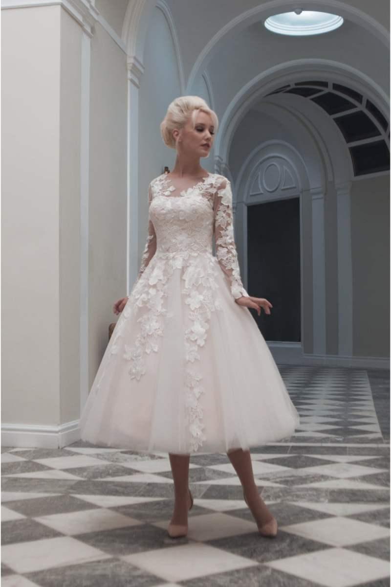 Large Of Tea Length Wedding Dress
