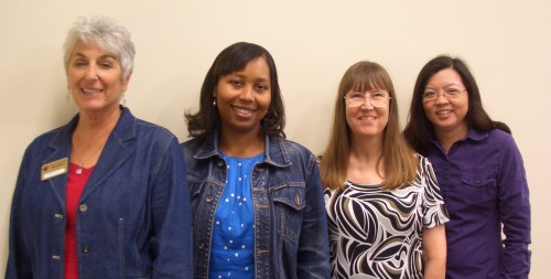 Officers—From left, Shirley Scott, Erika Anderson-Bolden, Joyce Cortez and Cherilyn Jose.