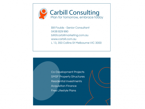 Carbill Consulting Business Card design