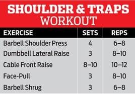 Shoulder & Trap Workout
