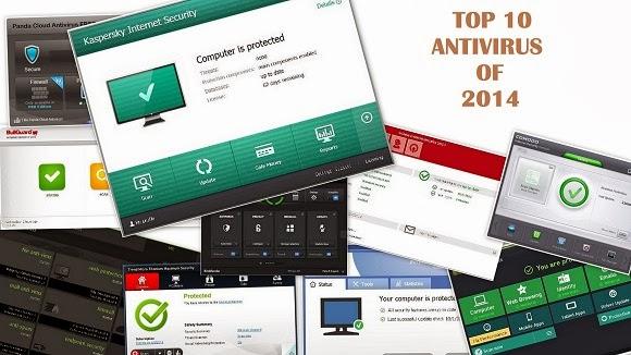 top 10 antivirus 2014