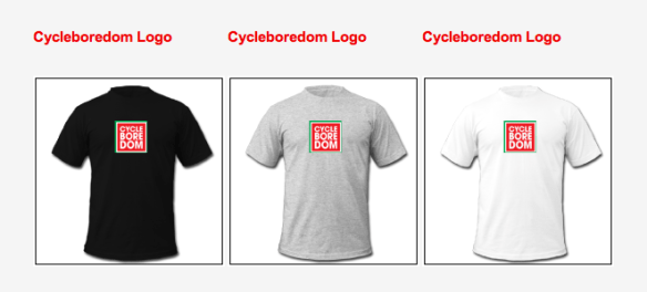 Cycleboredom Spreadshirt examples
