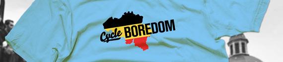 Cycleboredom | Belgian Flag of Boredom Shirt