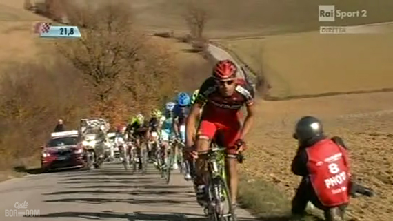 Cycleboredom | Screencap Recap: Montepaschi Strade Bianchi - Ballan Pushes The Pace
