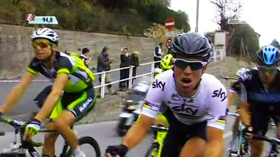 Cycleboredom | Screencap Recap: Milan-San Remo - Cav Face