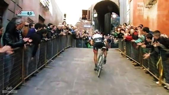 Cycleboredom | Screencap Recap: Montepaschi Strade Bianchi - Fabs Climb