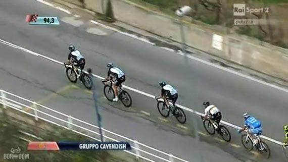 Cycleboredom | Screencap Recap: Milan-San Remo - Cav's Gruppetto