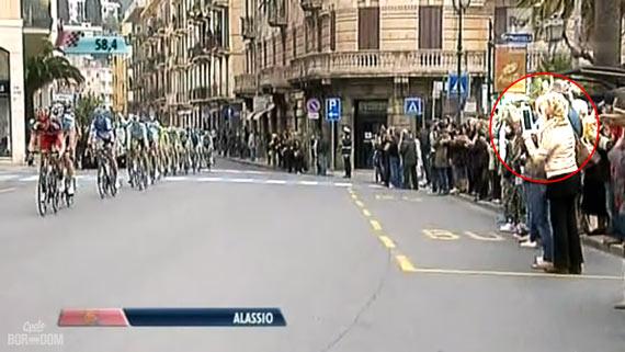 Cycleboredom | Screencap Recap: Milan-San Remo - Italy, WTF?!