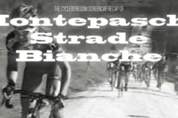 Cycleboredom | Screencap Recap: Montepaschi Strade Bianche