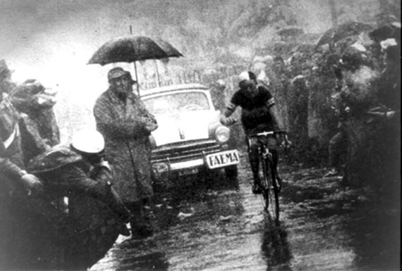 Cycleboredom | Retrofetish: Charly Gaul - The 1956 Giro d'Italia - Finish