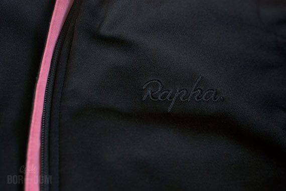 Cycleboredom | What I'm Riding: Rapha Winter Jersey - Logo And Zip