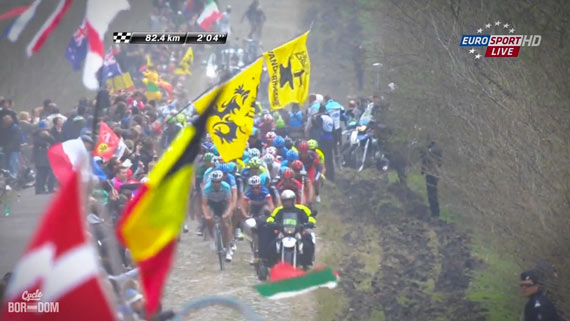 Cycleboredom | Screencap Recap: Paris-Roubaix - Boonen And Chavanel