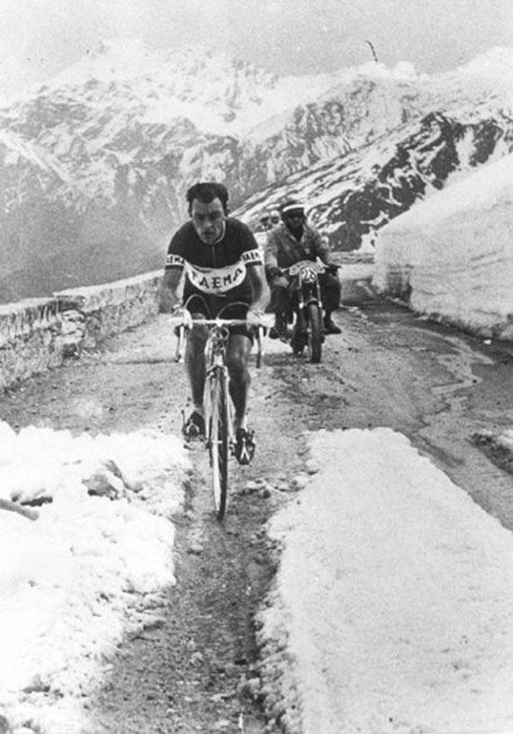 Cycleboredom   Retrofetish: Charly Gaul - The 1956 Giro d'Italia - Through It All