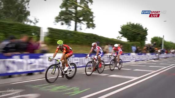 Cycleboredom | Screencap Recap: #Limburg2012 - Race For Second