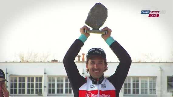 Screencap Recap: Paris-Roubaix 2013 - Sad Seb