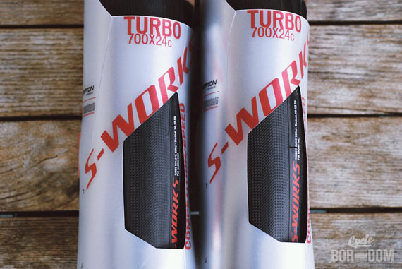 First Look: Specialized S-Works Turbo Tires