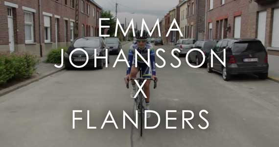 Emma Johansson - Swedish Ambassador for Flanders