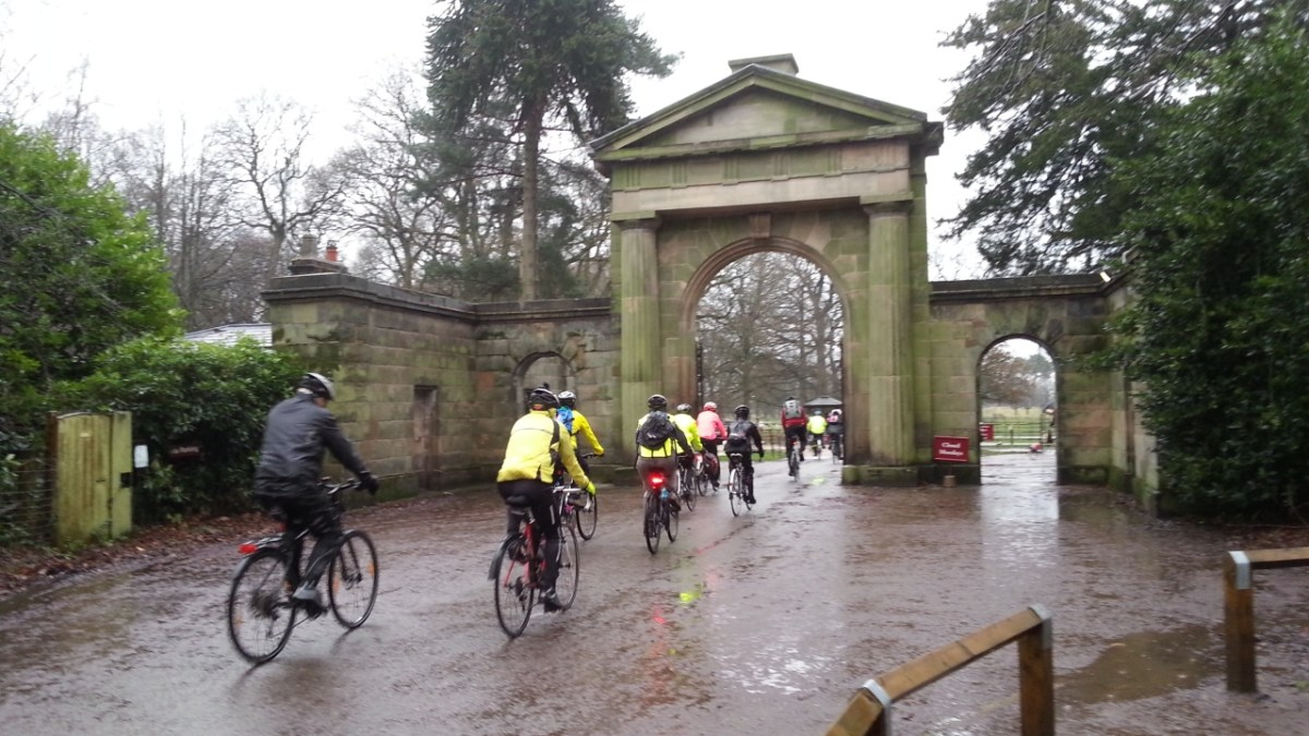 Tatton Park 2016 - Starting the Cycling Year in the Rain