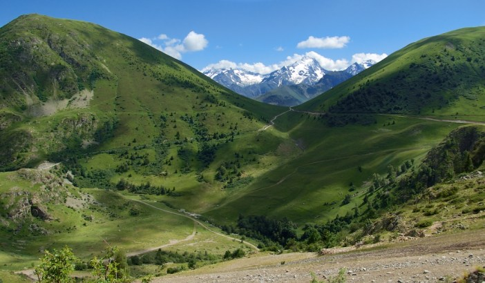 Col de Cluy from Sarenne side
