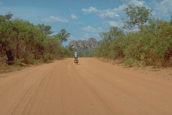 soft sand at Kakadu NP