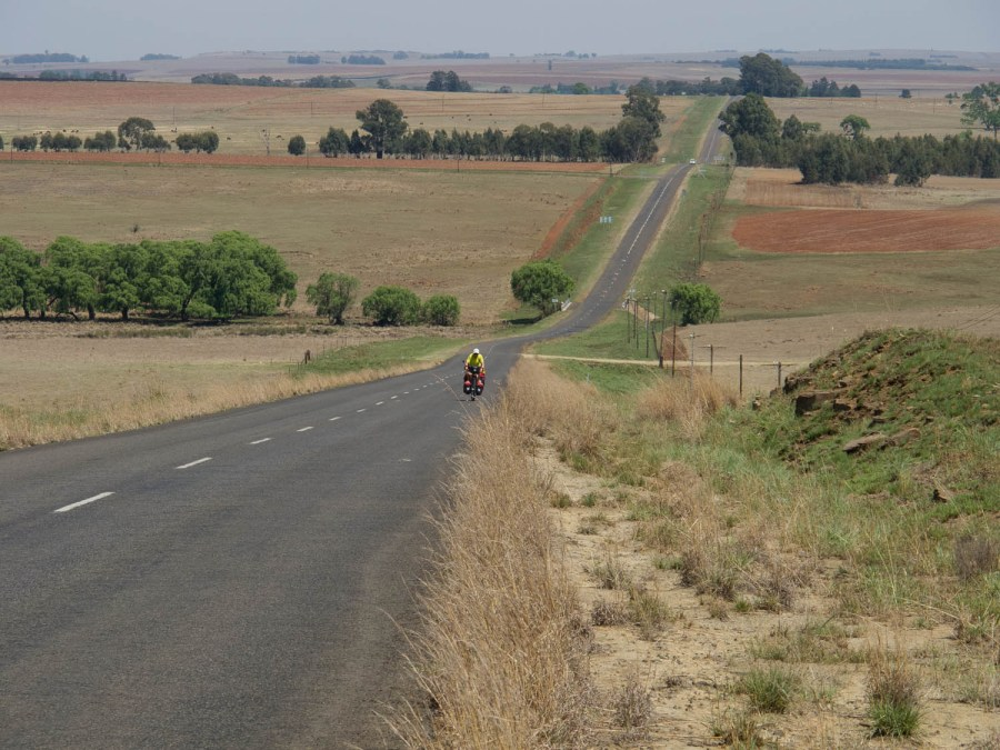 The rural road from Ermelo to Amsterdam