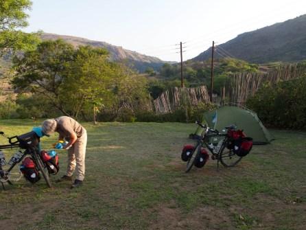 Camping at Maguga Dam Lodge