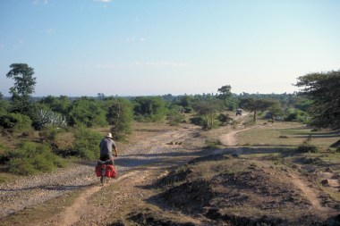 Somewhere on the road to Mandalay