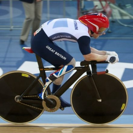 Jody Cundy ( GBR ) - Men's C4 4km Individual Pursuit - © Christina Kelkel