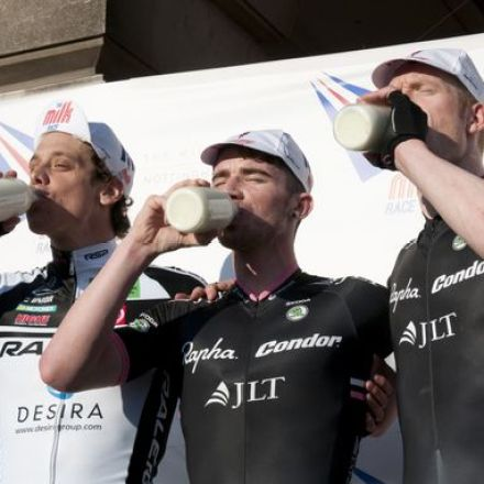 The Milk Race Returns To Nottingham In 2014