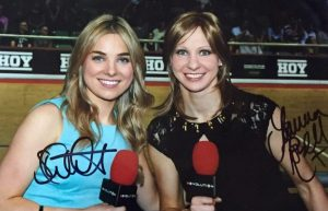Signed A4 Photo of Jo Rowsell & Sian Welby - Closing Date: 12/12/14