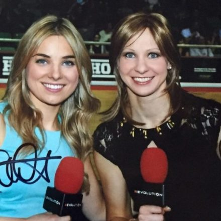 Signed A4 Photo of Jo Rowsell & Sian Welby