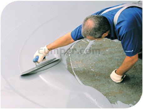 Aplicación de Pavimento Poliuretano Cemento Aplicación de Pavimento Poliuretano Cemento 01